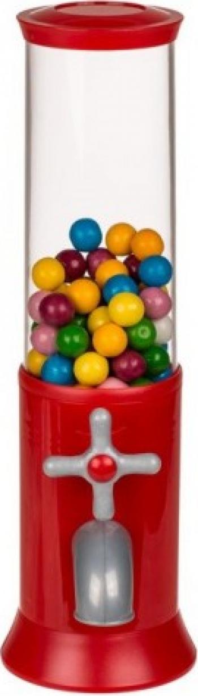 Distribuitor de bomboane sau guma de mestecat model retro 31cm Rosu
