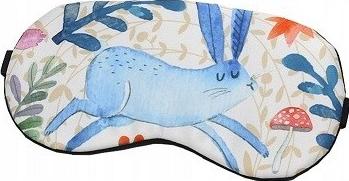 Masca de dormit din satin model Bunny Gonga