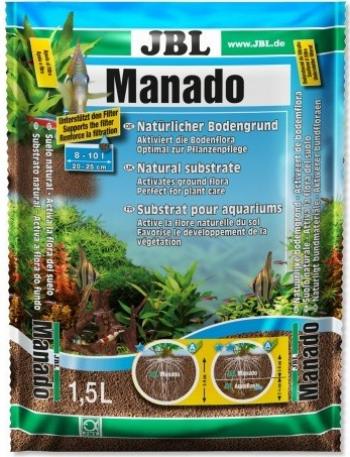 Substrat JBL Manado pentru acvariu 1.5 l Maro