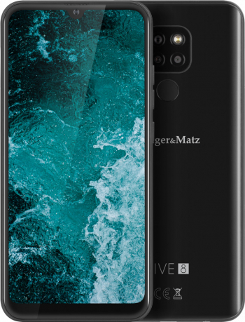 Telefon mobil Kruger Matz Live 8 64GB Dual SIM 4G Negru Telefoane Mobile