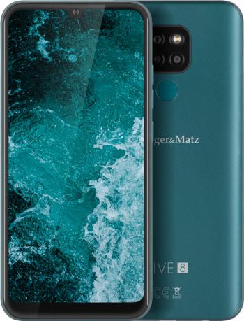 Telefon mobil Kruger Matz Live 8 64GB Dual SIM 4G Verde Telefoane Mobile