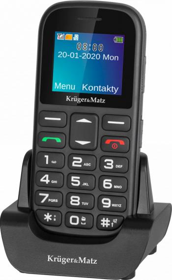 Telefon mobil Kruger Matz Simple 920 Dual SIM 2G Negru Telefoane Mobile