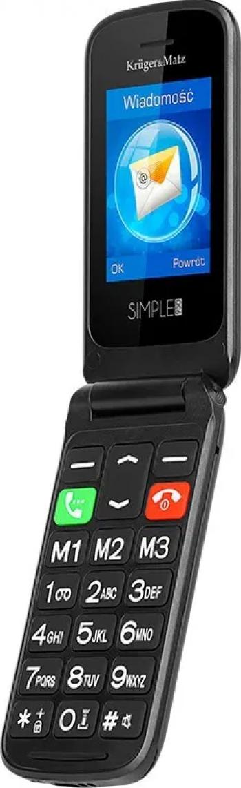 Telefon mobil Kruger Matz Simple 930 Dual SIM 2G Negru Telefoane Mobile