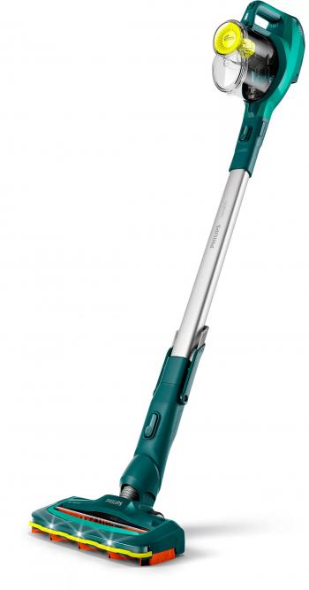 Aspirator vertical fara sac Philips SpeedPro FC6725/01 0.4 L 800 L/min Autonomie 40 min SpeedPro PowerBlade Verde Aspiratoare