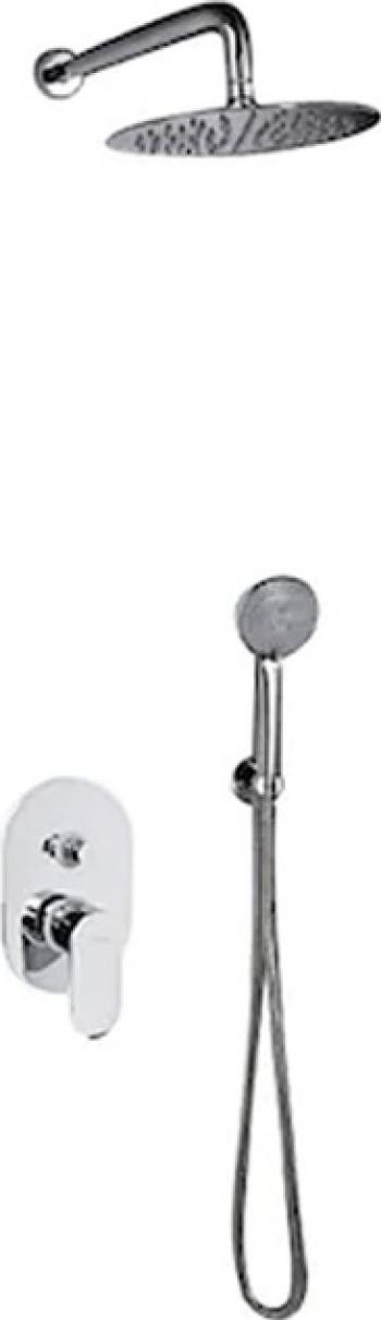 Set dus incastrat DIONE CHROME 2449990 VALVEX Baterii sanitare
