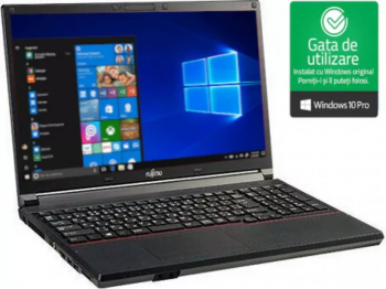 Laptop Fujitsu Siemens E742 Intel Core i5-3320M 2.60Ghz up to 3.30Ghz 4GB DDR3 250GB HDD DVD 15.6 inch Win10 Pro Refurbished