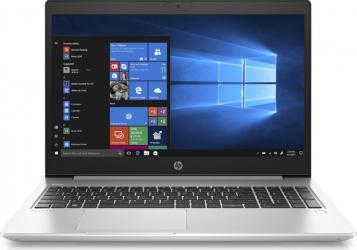 Laptop HP ProBook 450 G7 Intel Core (10th Gen) i5-10210U 512GB SSD 16GB FullHD Win10 Pro Tast. ilum. Silver Laptop laptopuri