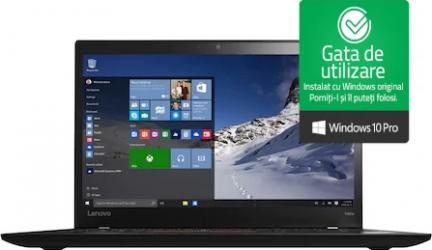 Laptop Lenovo ThinkPad T460s Intel Core i7-6600U 2.60GHz 8GB DDR4 256GB SSD Webcam 14 inch Win10 Pro Refurbished Laptopuri Renew & Refurbished