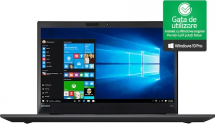Laptop Lenovo THINKPAD T570 Intel Core i5-7300U 2.60GHz up to 3.50GHz 8GB DDR4 240GB SSD 15.6inch Webcam FHD Win 10 Pro Refurbished Laptopuri Renew & Refurbished