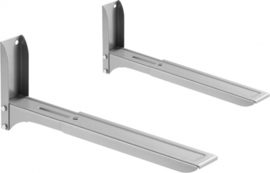 Suport pentru cuptor cu microunde LDK MB-5 Ajustare dimensiune 290-420 mm Greutate maxima admisa 35 Kg Argintiu Accesorii electrocasnice