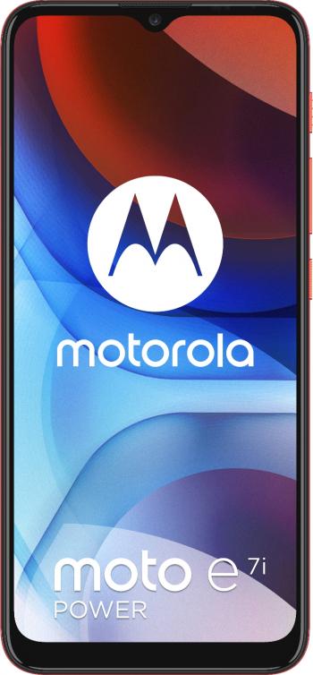 Telefon mobil Motorola Moto E7i Power 32GB Dual SIM 4G Coral Red