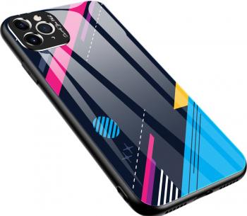 Husa cu spate din sticla securizata pentru iPhone 11 Pro model 4 Huse Telefoane