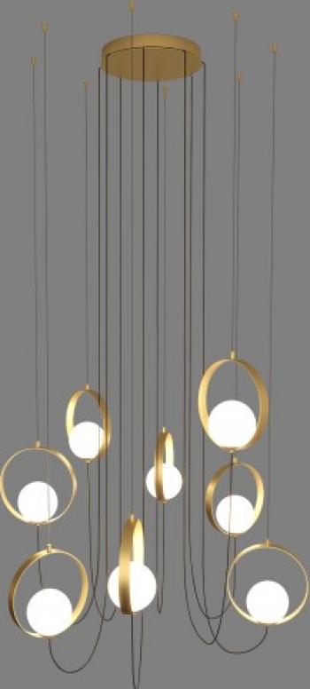 LUSTRA HALO C38151800 Corpuri de iluminat