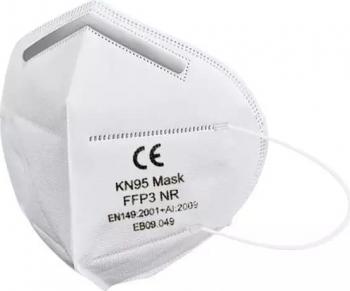 Set 10 buc Masca de protectie FFP3 din 5 straturi Alb Certificat CE