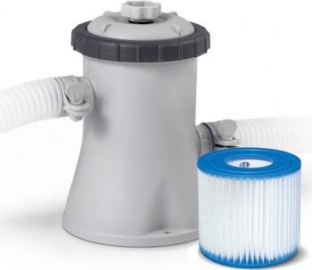 Pompa filtrare apa piscina Intex 28602-29007 1250 l apah 30W + 13 filtre tip H