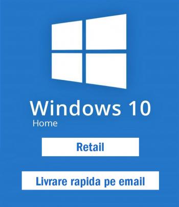 Windows 10 Home Retail Licenta Permanenta Sisteme de operare