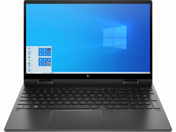 Laptop 2in1 HP ENVY x360 Convert 15-ee0018nn AMD Ryzen 7 4700U 1TB SSD 16GB AMD Radeon FullHD Touch Win10 Tast. ilum. Nightfall Black Laptop laptopuri