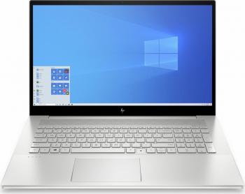 Laptop HP ENVY 15-ep0013nq Intel Core (10th Gen) i7-10750H 1TB SSD 16GB GTX 1660Ti 6GB Max-Q FullHD Win10 Pro Tast. ilum. Natural Silver Laptop laptopuri