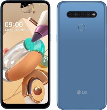 Telefon mobil LG K41S 32GB Dual SIM 4G Albastru Telefoane Mobile