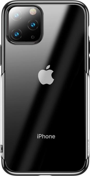 Husa de protectie Baseus Shining Case iPhone 11 Pro Max TransparentNegru Huse Telefoane