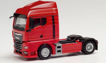 Macheta camion MAN TGX GM Rosu L 60mm 1 87