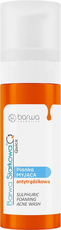Spuma demachianta anti-acnee cu sulf Barwa 150 ml Masti, exfoliant, tonice