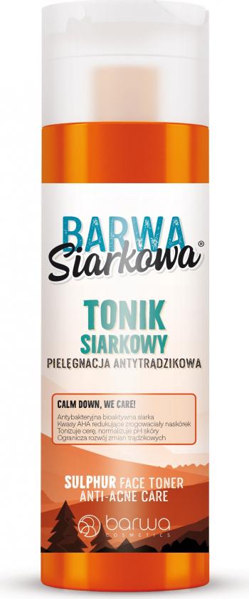 Tonic facial antibacterian cu sulf Barwa 200 ml Masti, exfoliant, tonice