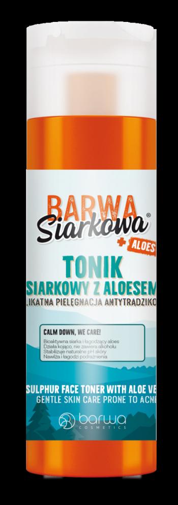 Tonic facial antibacterian cu sulf si Aloe Vera Barwa 200 ml Masti, exfoliant, tonice