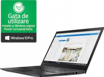 Laptop ThinkPad T470s Intel Core i7-6600 2.80GHz 8GB DDR4 256GB SSD 14inch Webcam Refurbished Win10 Pro