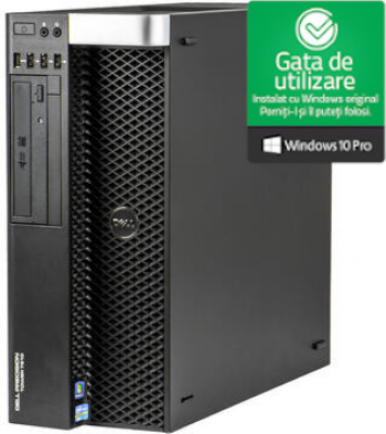 WorkStation Dell Precision Tower T7600 2 Intel Xeon E5-2620 2.0GHz 64GB DDR3 2x 3TB HDD Nvidia Quadro 4000 2GB Refurbished Win10 Pro