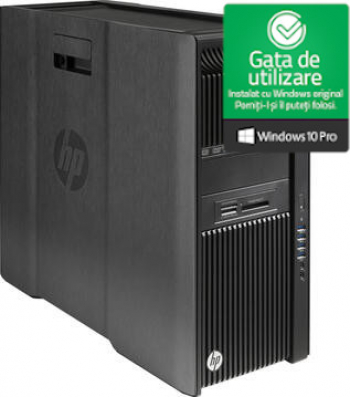 WorkStation HP Z840 2 X Intel Xeon E5-2695 V3 2.3GHz 128GB DDR4 1TB SSD Nvidia Quadro K2000 2GB DVD Refurbished Win10 Pro