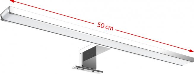 Aplica baie cu LED Lucerna L 6 W 800 lm Corpuri de iluminat