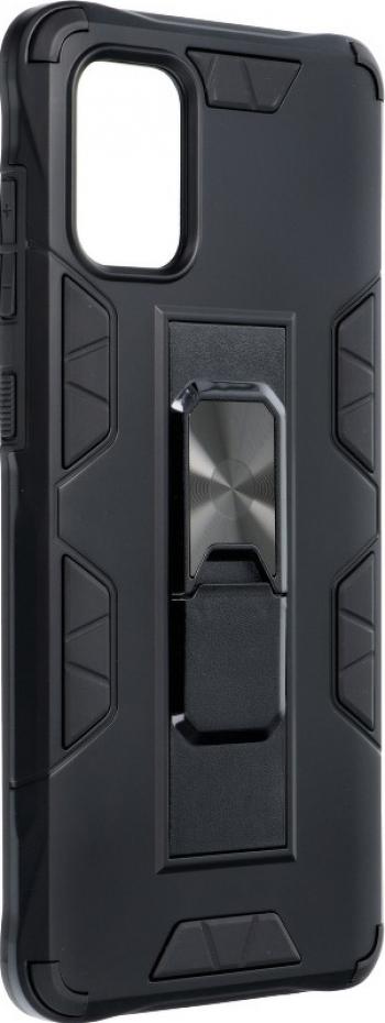 Husa Magnet Stand compatibila cu Xiaomi Redmi Note 9 Antishock Defender Magnet suport auto incorporat Functie stand TPU + PC Black Huse Telefoane