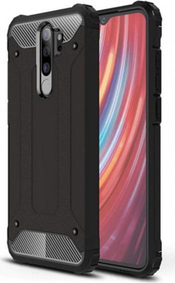 Husa Xiaomi Redmi Note 8 Pro Armor Black Huse Telefoane