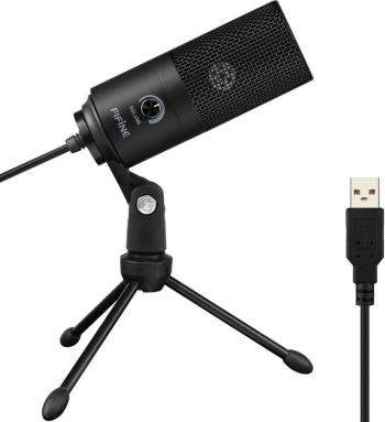 Microfon FIFINE USB Microfon laptop PC Microfon condensator + suport