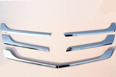 Ornament inox masca fata compatibil Mercedes Sprinter W906 Facelift 2013- ManiaCars Huse si Accesorii