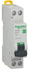 Siguranta automata 25A 1P+N C 4.5KA EASY 9 Electronica si Accesorii