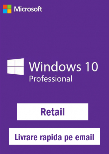 Windows 10 Pro Retail Licenta Permanenta Sisteme de operare