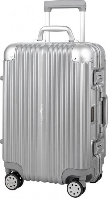 Troler Kruger&Matz KM0296-S 32 L Policarbonat Aluminiu Argintiu