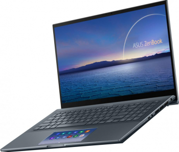 UltraBook ASUS ZenBook Pro 15 OLED UX535LI Intel Core (10th Gen) i7-10870H 1TB SSD 16GB 4K Touch Win10 Pro Tast. ilum. Pine Grey