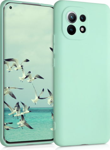 Husa pentru Xiaomi Mi 11 Silicon Verde 54188.50