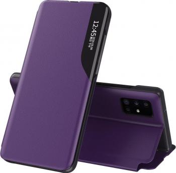 Husa protectie Techsuit eFold Series pentru Apple iPhone 11 Pro Tip Portofel Violet Huse Telefoane