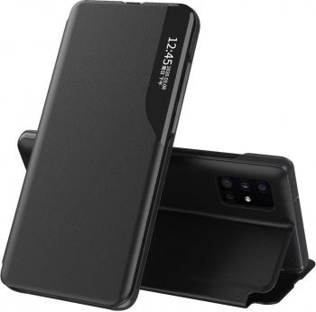 Husa Smart View compatibila cu Xiaomi Mi 10T Lite Cu Suport Black Huse Telefoane