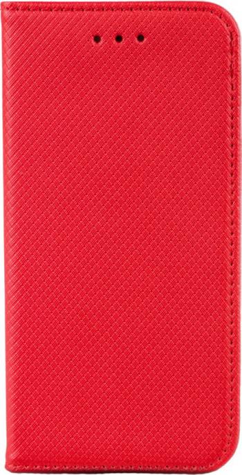 Husa tip carte compatibila cu Xiaomi Mi 11 premium book G-Tech inchidere magnetica buzunar card Rosu