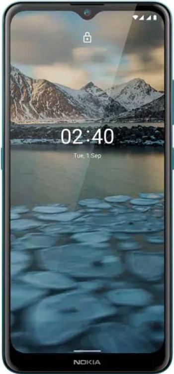 Telefon mobil Dual SIM Nokia 2.4 32GB + 2GB RAM Blue Telefoane Mobile