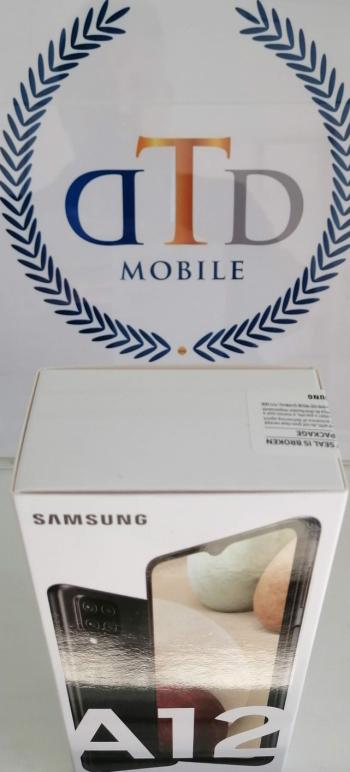 Telefon mobil Samsung Galaxy A12 Dual SIM 64GB 4G Negru Telefoane Mobile