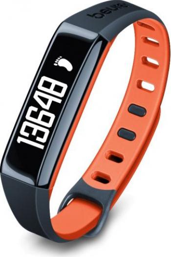 Bratara monitorizare activitate fizica Beurer AS80C Bluetooth Portocaliu