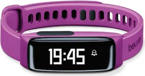 Bratara monitorizare activitate fizica pentru femei Beurer AS81 Bluetooth Lila