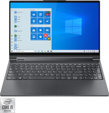 Ultrabook 2in1 Lenovo Yoga 9 15IMH5 Intel Core (10th gen) i9-10980HK 2TB SSD 16GB NVIDIA GTX 1650 Ti 4K Touch Win10 Tast. ilum. Slate Grey Laptop laptopuri