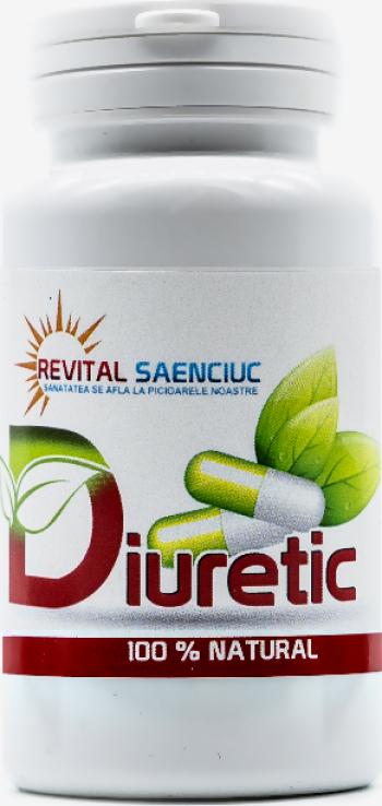 Diuretic 120 capsule produs naturist Revital Saenciuc Vitamine si Suplimente nutritive